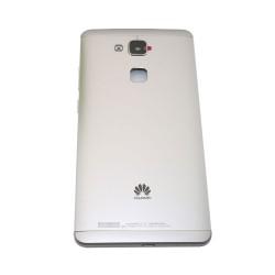 Back Cover / Πίσω Καπάκι Για Huawei Ascend Mate 7 Ασημί