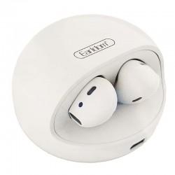 Earldom BH58 Bluetooth Handsfree Earbuds με Ενσύρματη Θήκη Φόρτισης Λευκό