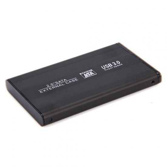 Αξεσουάρ-Εξωτερική Θήκη Σκληρού Δίσκου - External Case HD Serial ATA 2.5 USB 3.0 Μαύρο