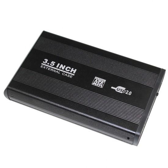 Αξεσουάρ-Εξωτερική Θήκη Σκληρού Δίσκου - External Case HD Serial ATA 3.5 USB 2.0 Μαύρο