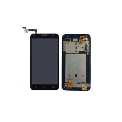 LCD Display with Frame για Alcatel One Touch 5010/5010D Pixi 4 Μαύρο