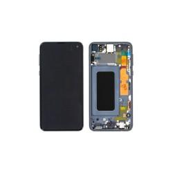 Γνήσια Οθόνη LCD και Μηχανισμός Αφής με Πλαίσιο για Samsung Galaxy S10e G970F GH82-18852C Μπλε