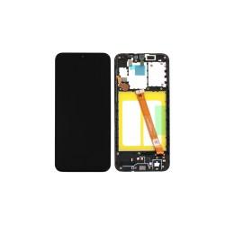 Γνήσια Οθόνη LCD και Μηχανισμός Αφής με Πλαίσιο για Samsung Galaxy A20e A202F GH82-20186A Μαύρο