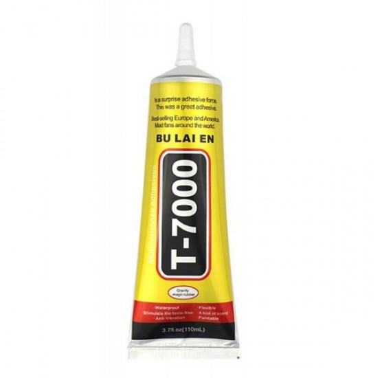 Αξεσουάρ-Κόλλα Σιλικόνης Μαύρη για Μηχανισμούς Αφής T-7000 (110 ml) και Πολλαπλών Χρήσεων