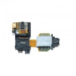 Βύσμα Ακουστικών Και Μικρόφωνο Και Καλωδιοταινία Αισθητήρα για Sony Xperia Z3