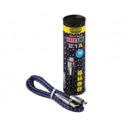 Καλώδιο micro-USB DATALINE Αστέρια 1Μ