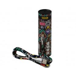 Καλώδιο micro-USB DATALINE Tribal 1Μ