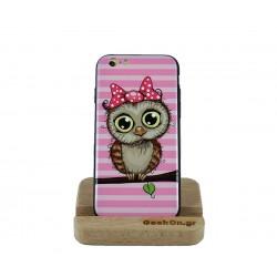 Θήκη IKAKU iPhone 6/6S Lady Owl