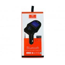 Ηχοσύστημα αναπτήρα αυτοκινήτου FM με Bluetooth και θύρα USB Earldom ET-M18