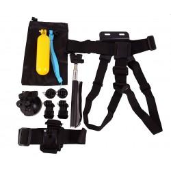 Σετ 10 αξεσουάρ για action camera GoPro/GitUP/SJCAM