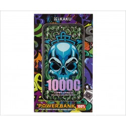 Power Bank IKAKU 10000mah Skull
