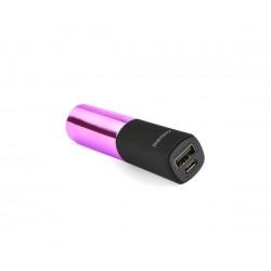 Power Bank Lipstick 2400mah REMAX RPL-12 Pink