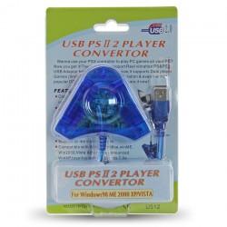 2 σε 1 Μετατροπέας PS2 σε USB