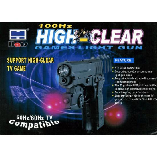 Αξεσουάρ Playstation-Πιστόλι Light Gun για Playstation 1 & 2