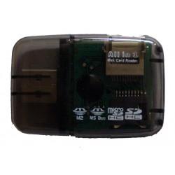 USB 2.0 Card Reader Όλα σε 1
