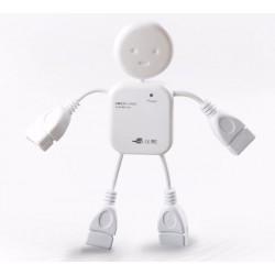USB 2.0 Hub 4 θυρών σχήμα ανθρωπάκι