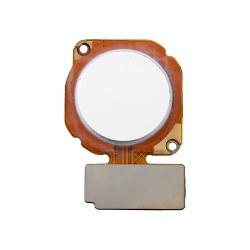 Καλωδιοταινία Δαχτυλικoύ Αποτυπώματος / Fingerprint Flex Huawei Honor 10 lite Λευκό
