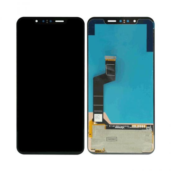 Ανταλλακτικά-Οθόνη LCD με Μηχανισμό Αφής για LG G8S ThinQ LM-G810Mαύρο