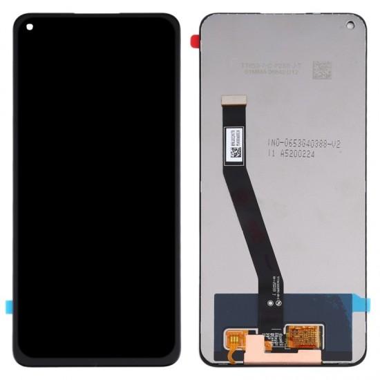 -Οθόνη LCD με Μηχανισμό Αφής για Xiaomi Redmi Note 9 Μαύρη