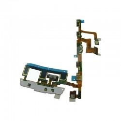 Καλωδιοταινία Πλήκτρων και Δόνησης Και Μικρόφωνου Και Κουμπιών Έντασης Ήχου / Keypad and Vibration Motor and Mic and Volume Flex για Sony Xperia U5
